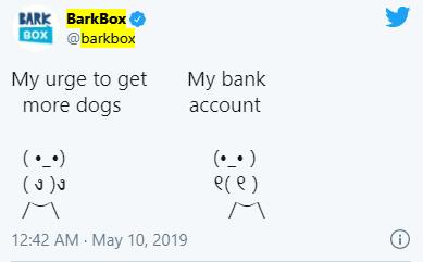 barkbox meme marketing