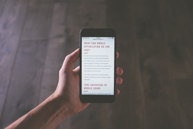 mobile friendliness is a must in website design guidelines