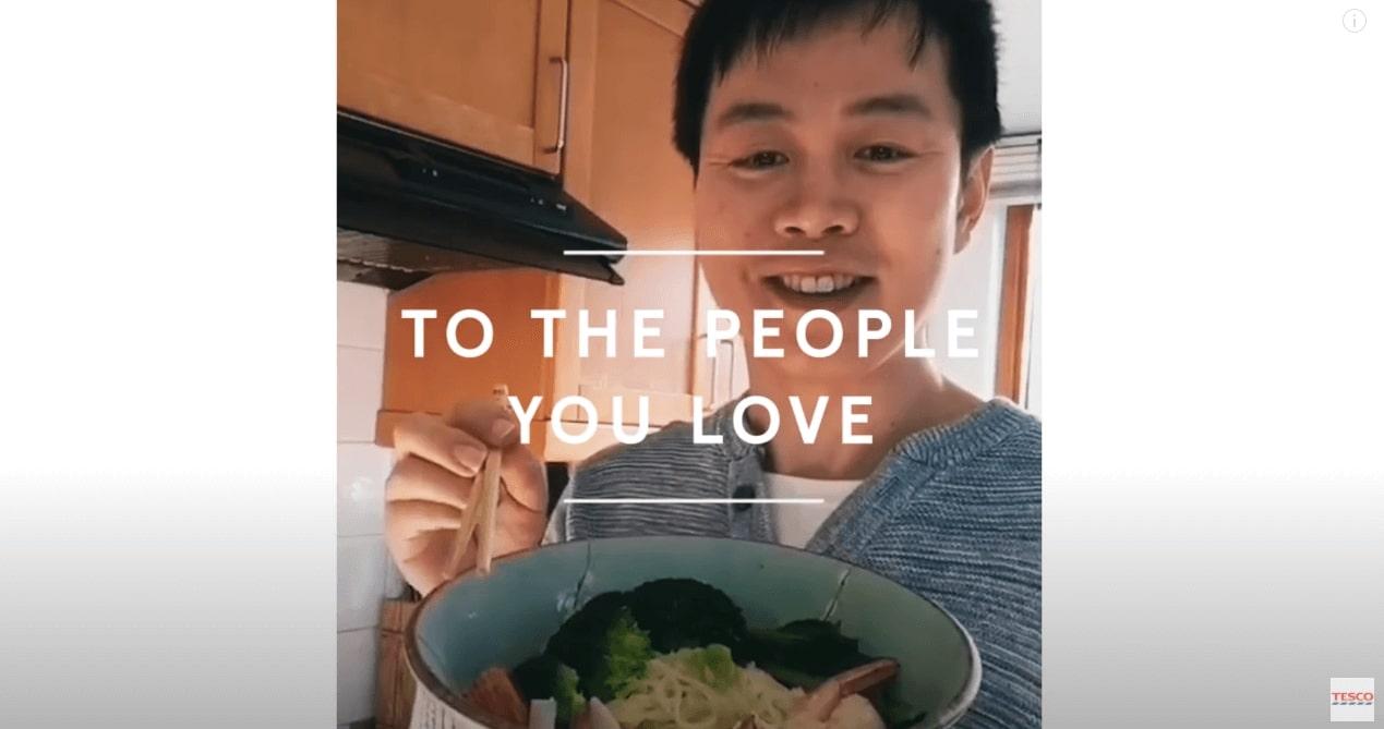 food love stories tesco